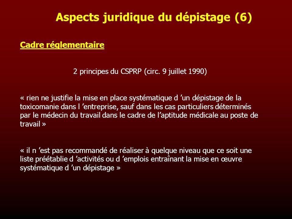 Aspects juridique du dépistage (6)