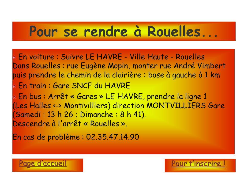 Pour se rendre à Rouelles...