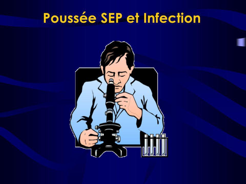 Poussée SEP et Infection