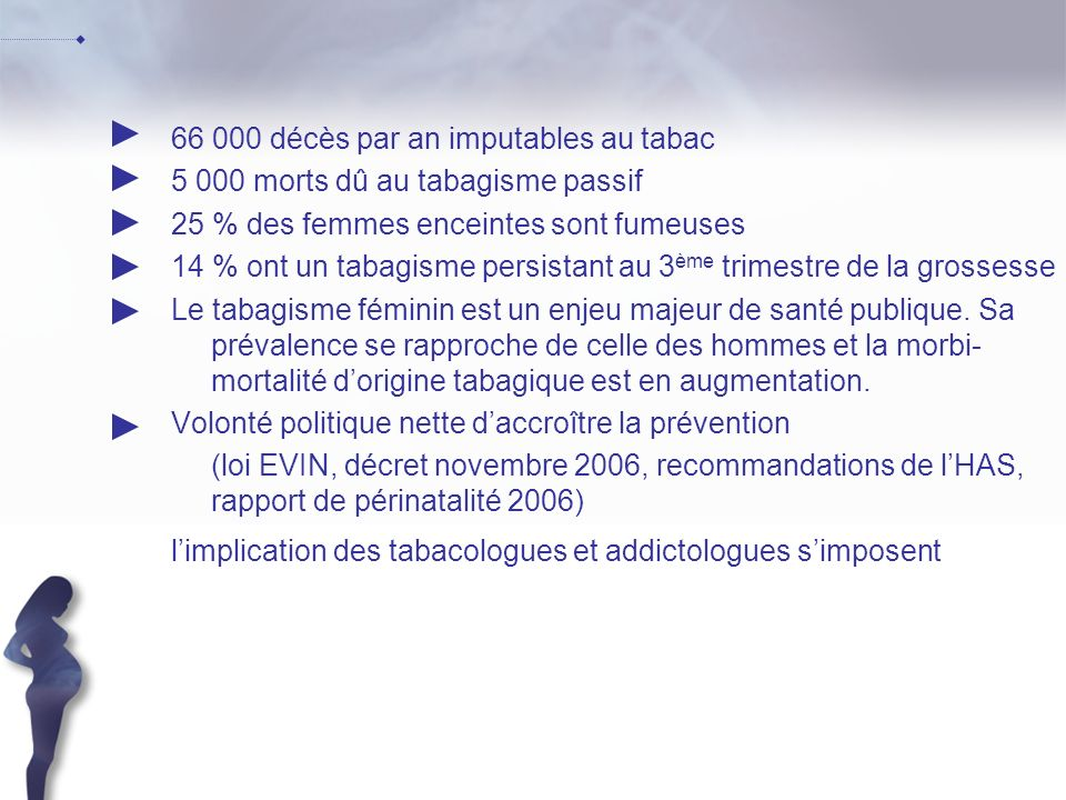66 000 décès par an imputables au tabac