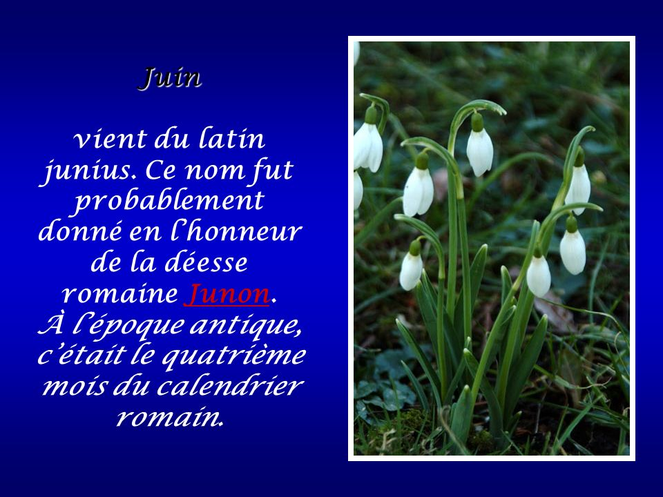 À l'époque antique, c'était le quatrième mois du calendrier romain.