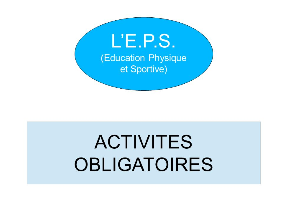 ACTIVITES OBLIGATOIRES