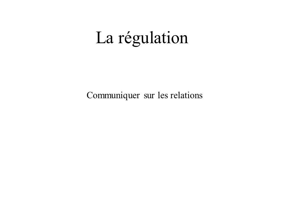 Communiquer sur les relations