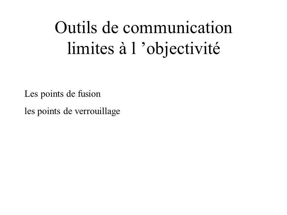 Outils de communication limites à l 'objectivité