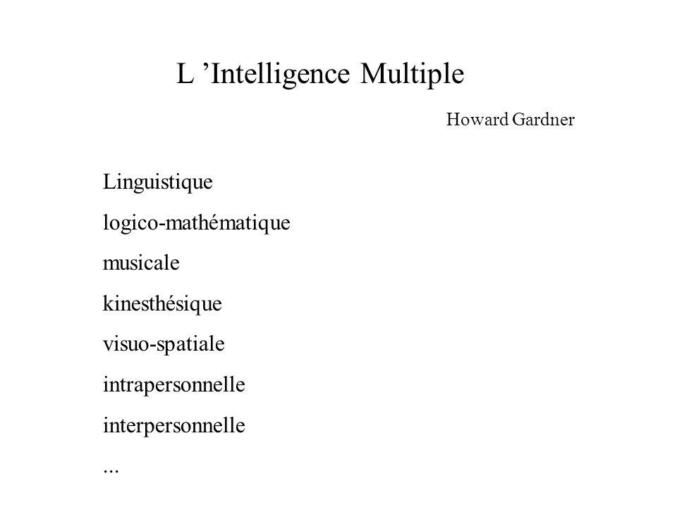L 'Intelligence Multiple