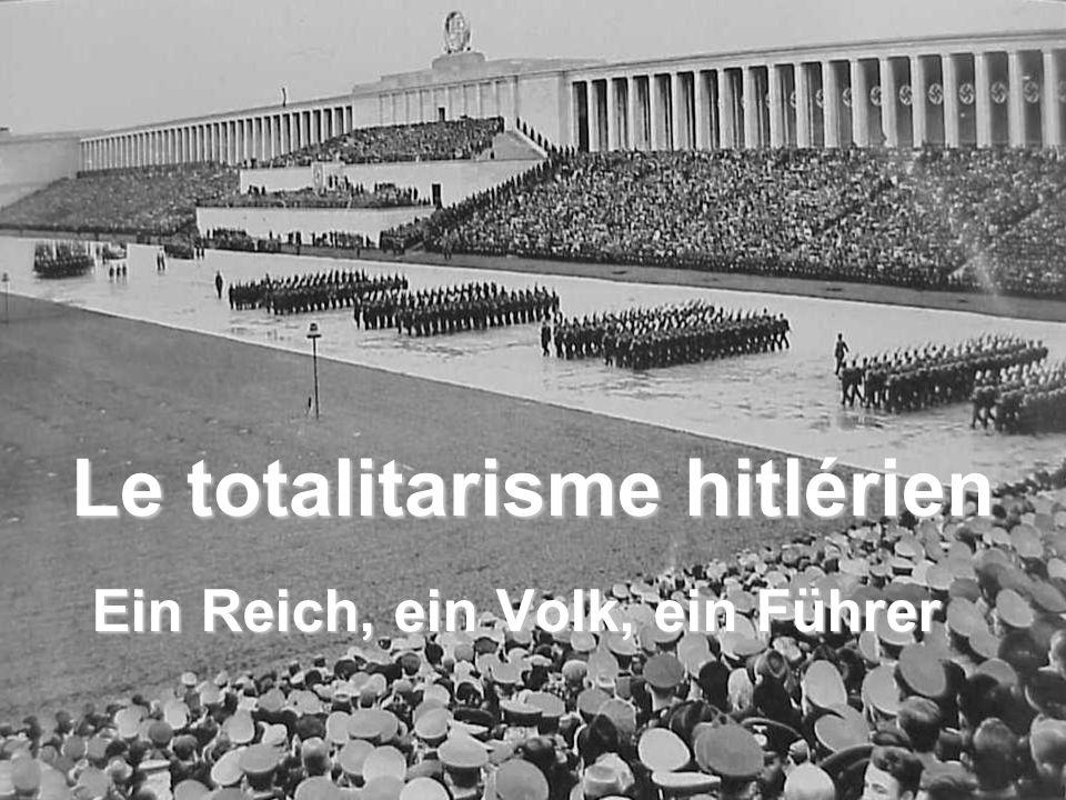 Le totalitarisme hitlérien
