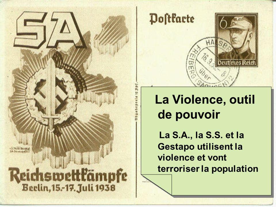 La Violence, outil de pouvoir