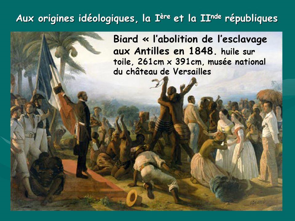 Aux origines idéologiques, la Ière et la IInde républiques
