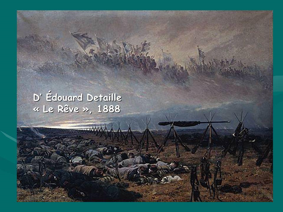 D' Édouard Detaille « Le Rêve », 1888