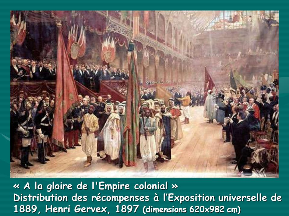 « A la gloire de l Empire colonial »