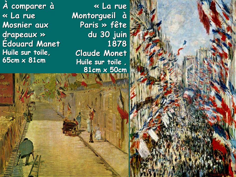 « La rue Montorgueil à Paris » fête du 30 juin 1878