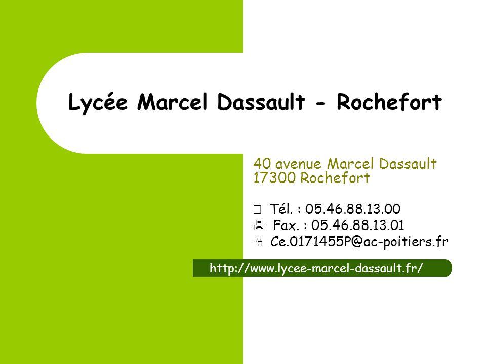 Lycée Marcel Dassault - Rochefort