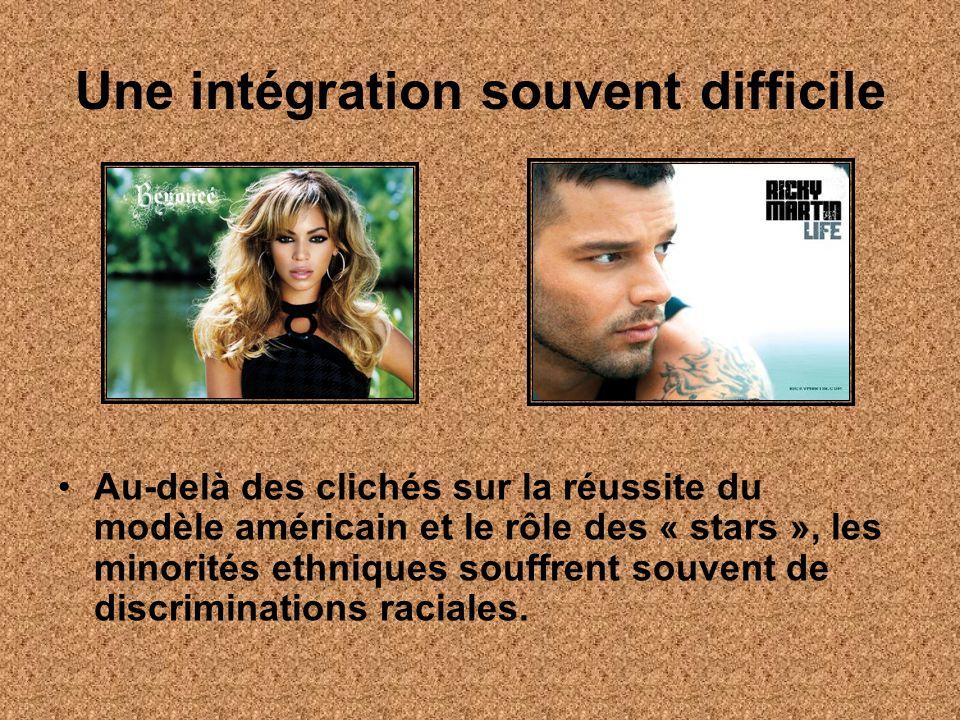 Une intégration souvent difficile