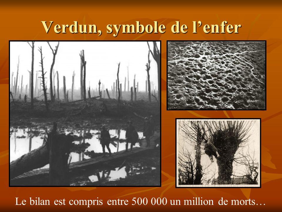Verdun, symbole de l'enfer