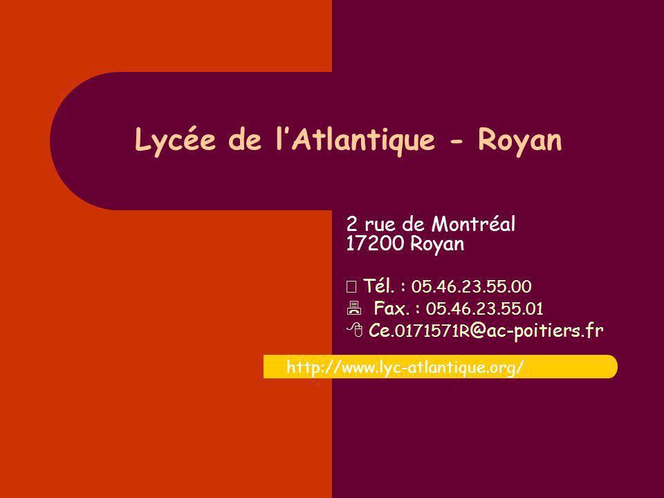Lycée de l'Atlantique - Royan