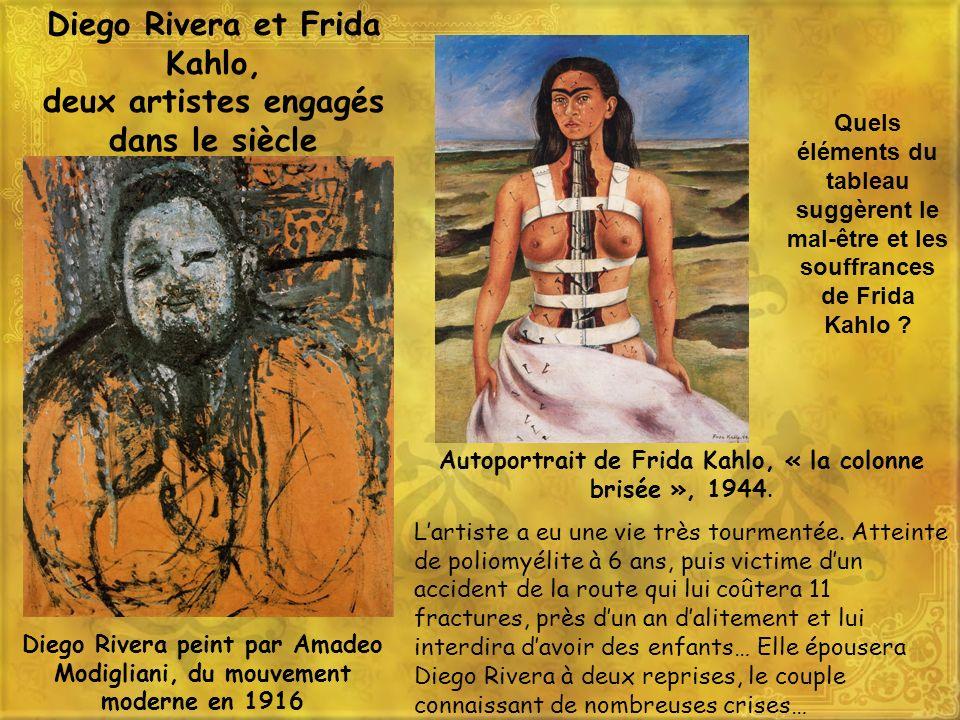 Diego Rivera et Frida Kahlo, deux artistes engagés dans le siècle