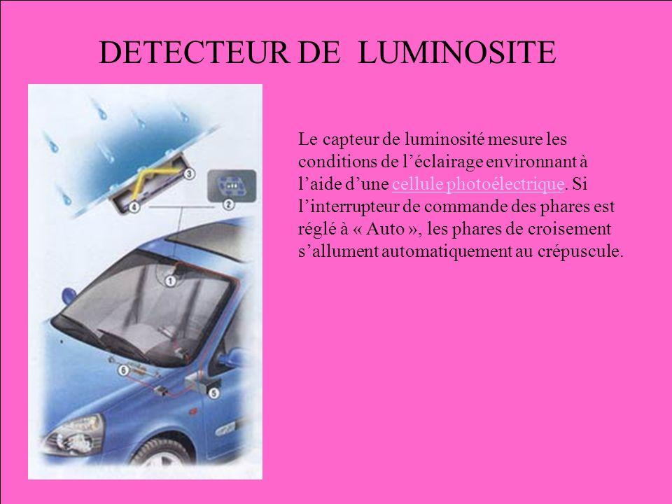 DETECTEUR DE LUMINOSITE