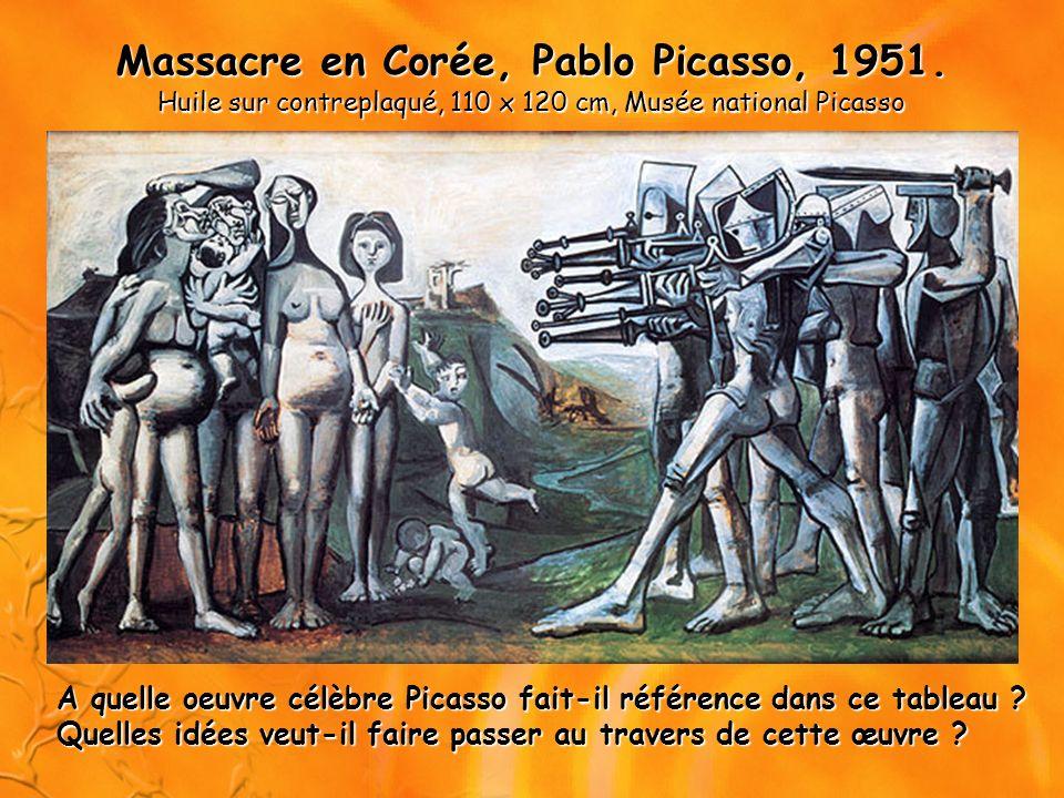 Massacre en Corée, Pablo Picasso, 1951