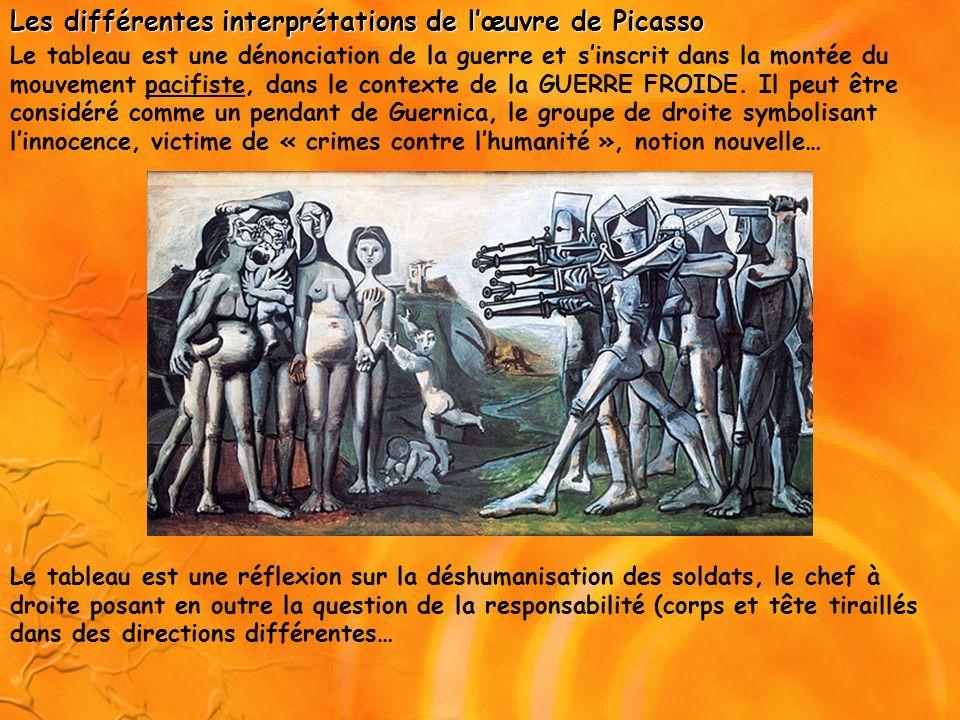 Les différentes interprétations de l'œuvre de Picasso