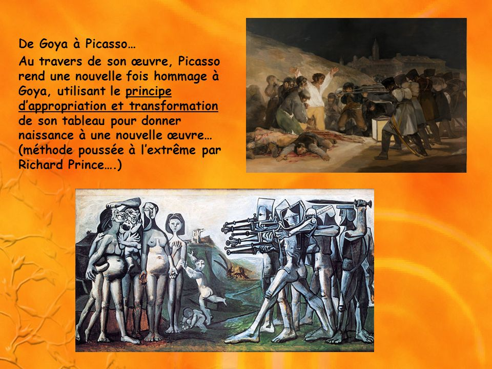 De Goya à Picasso…