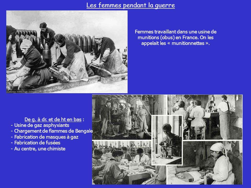 Les femmes pendant la guerre