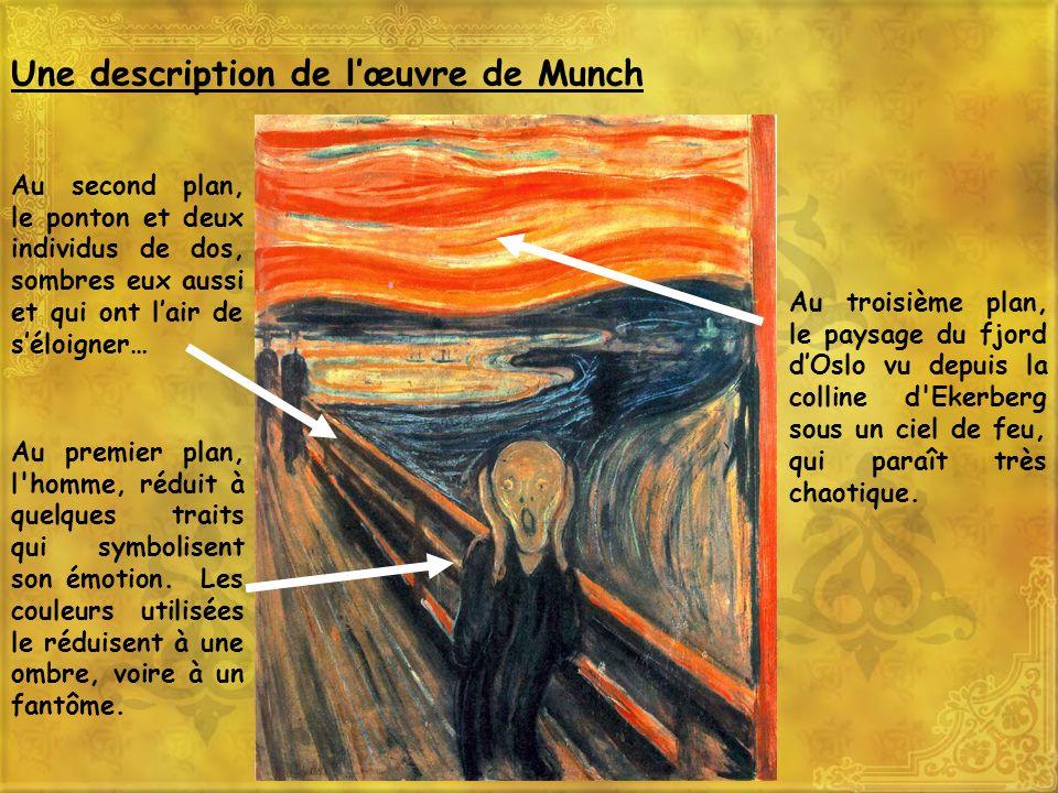 Une description de l'œuvre de Munch