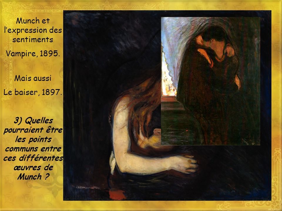 Munch et l'expression des sentiments