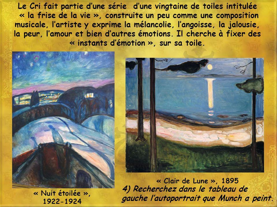 Le Cri fait partie d'une série d'une vingtaine de toiles intitulée