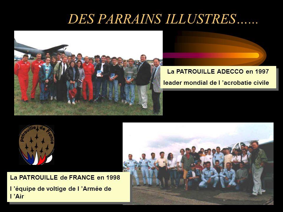 DES PARRAINS ILLUSTRES…...