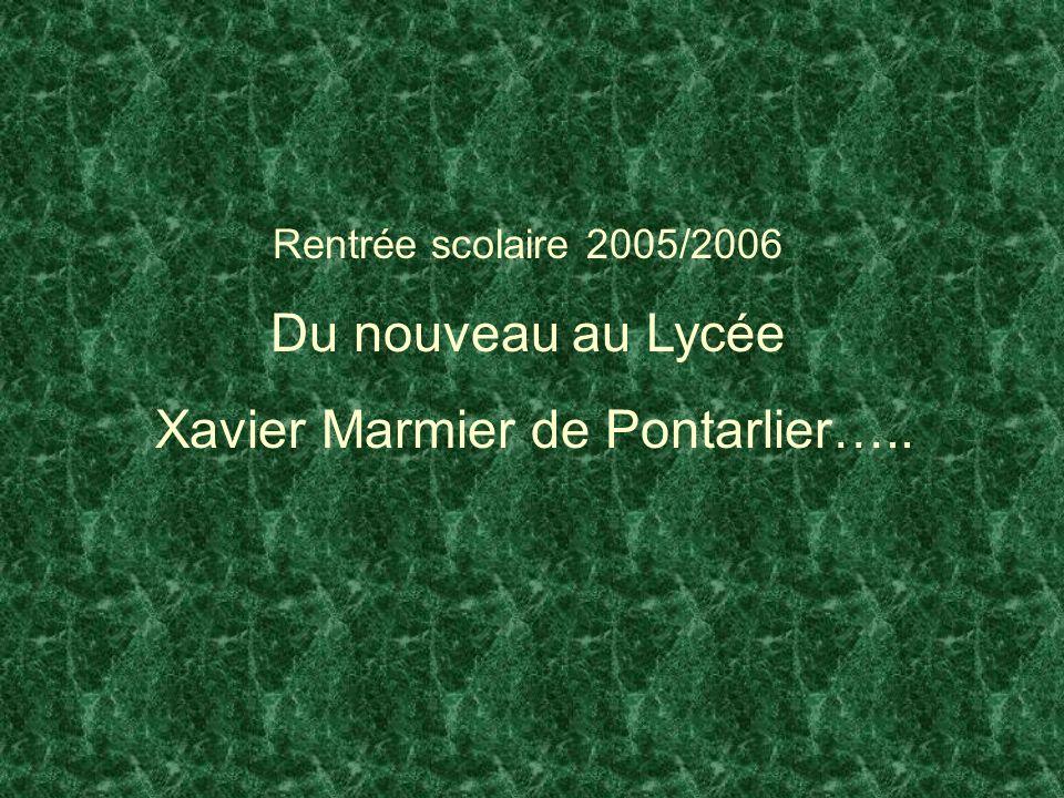 Xavier Marmier de Pontarlier…..