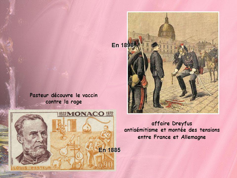Pasteur découvre le vaccin