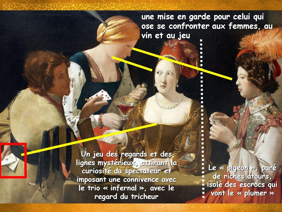une mise en garde pour celui qui ose se confronter aux femmes, au vin et au jeu