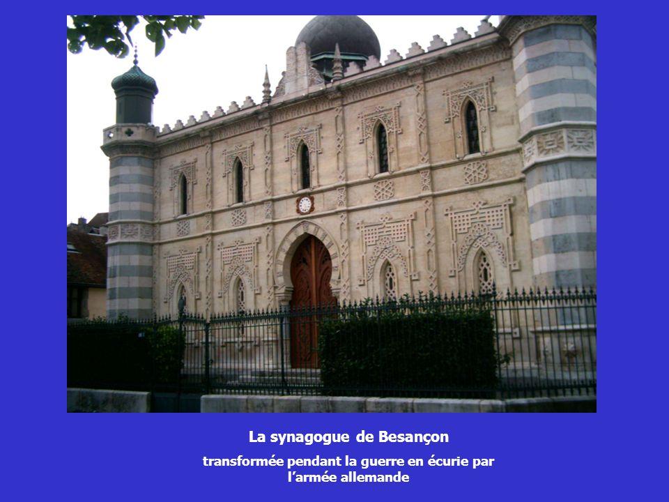 La synagogue de Besançon