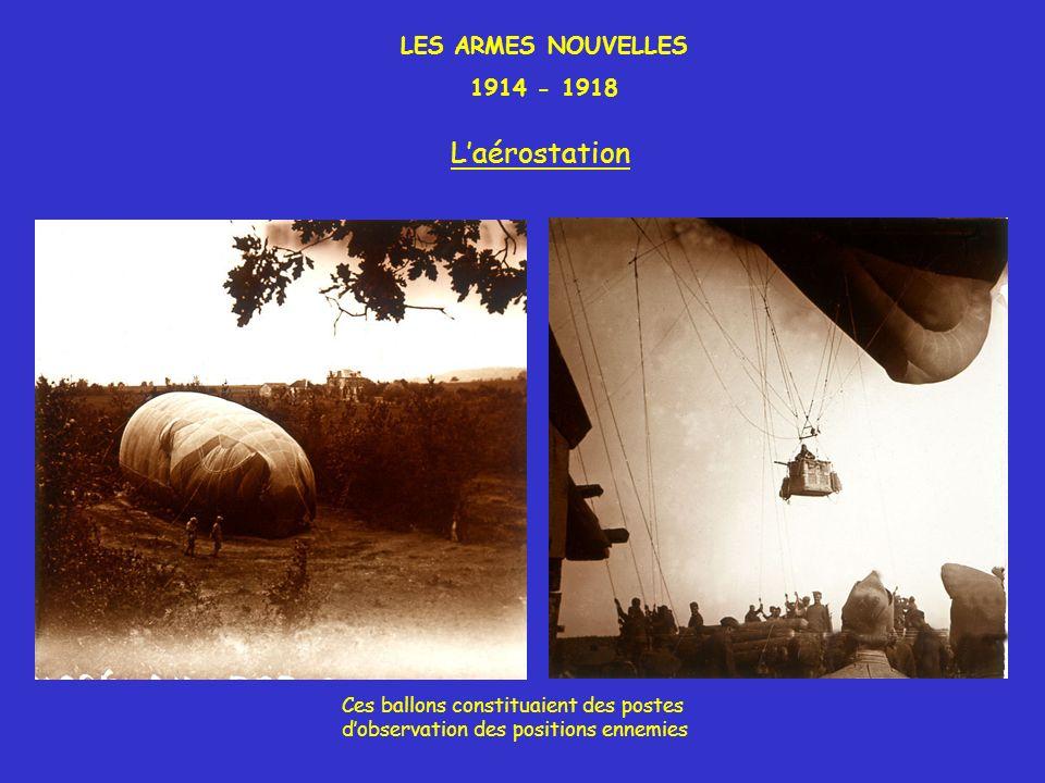 L'aérostation LES ARMES NOUVELLES 1914 - 1918