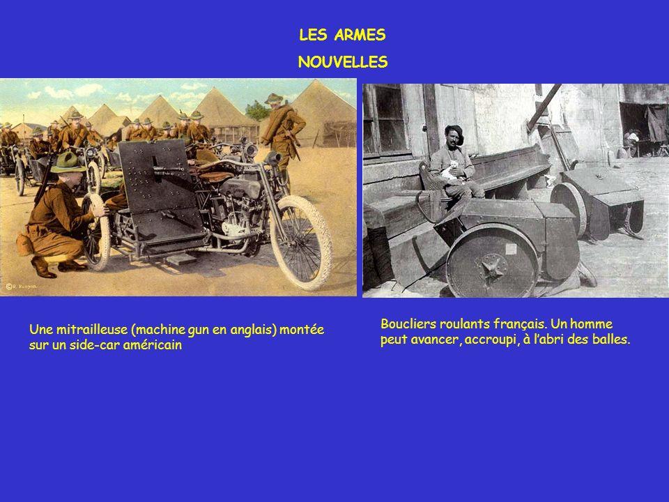 LES ARMES NOUVELLES Boucliers roulants français. Un homme