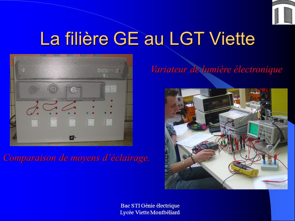 La filière GE au LGT Viette