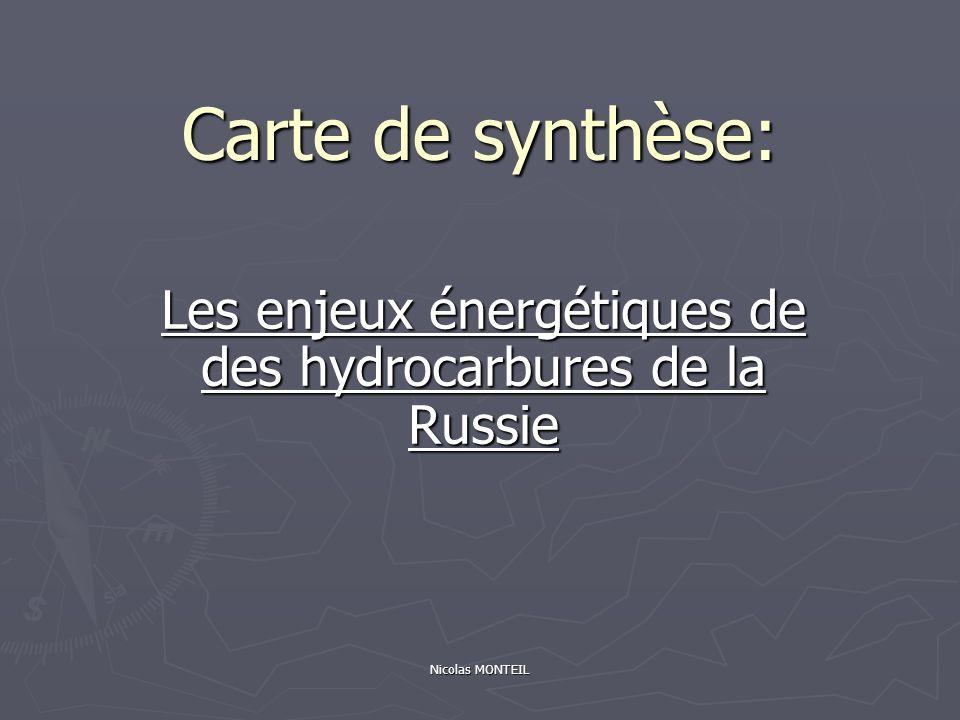 Les enjeux énergétiques de des hydrocarbures de la Russie