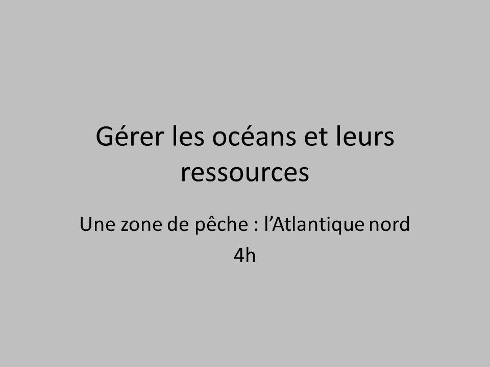 Gérer les océans et leurs ressources