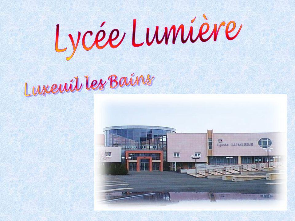 Lycée Lumière Luxeuil les Bains