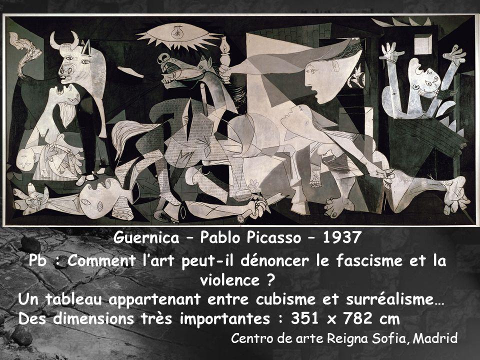 Guernica – Pablo Picasso – 1937