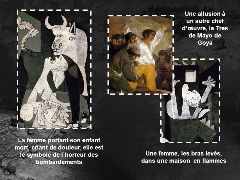Une allusion à un autre chef d'œuvre, le Tres de Mayo de Goya