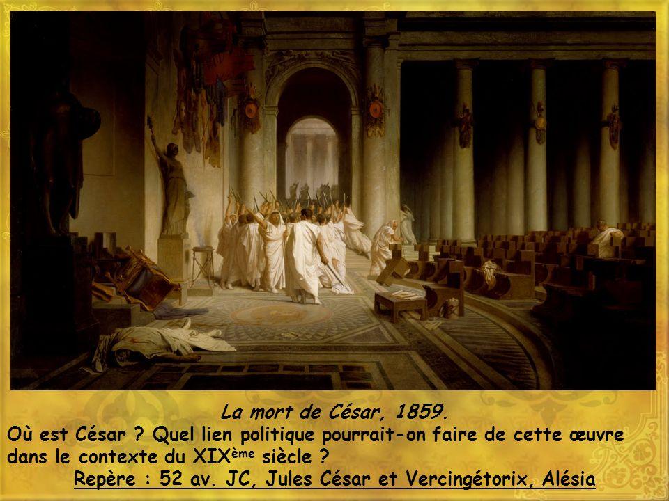 Repère : 52 av. JC, Jules César et Vercingétorix, Alésia