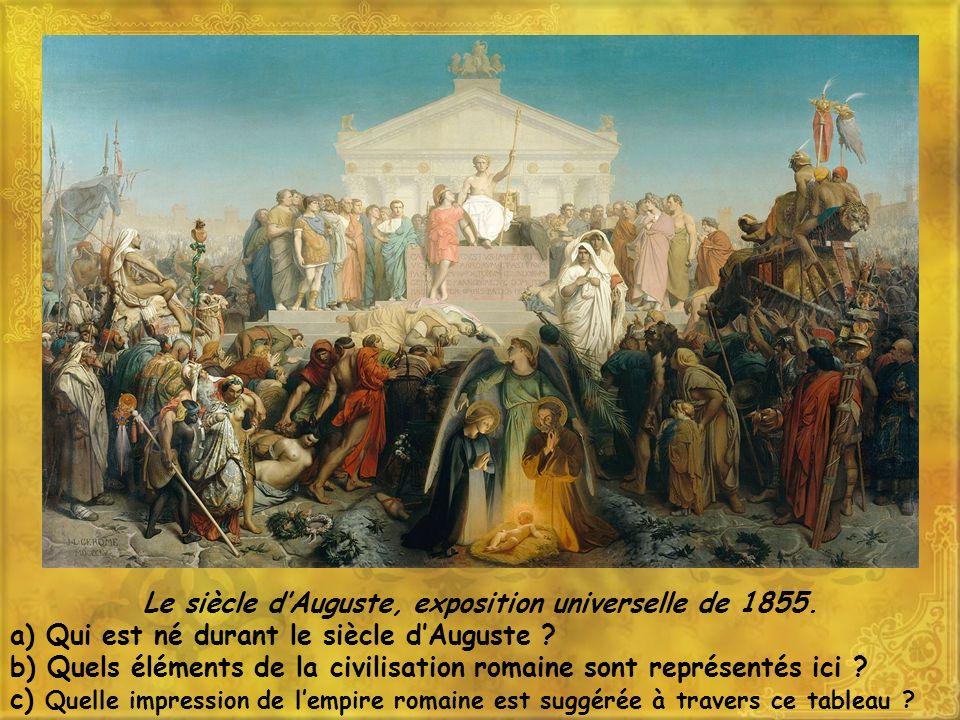 Le siècle d'Auguste, exposition universelle de 1855.