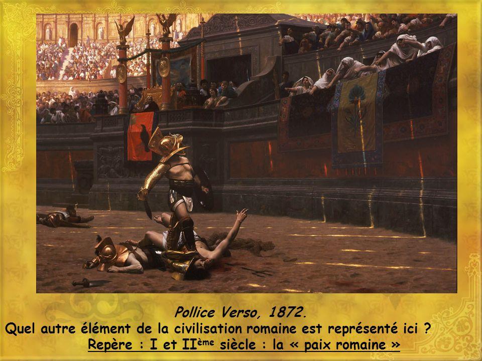 Repère : I et IIème siècle : la « paix romaine »