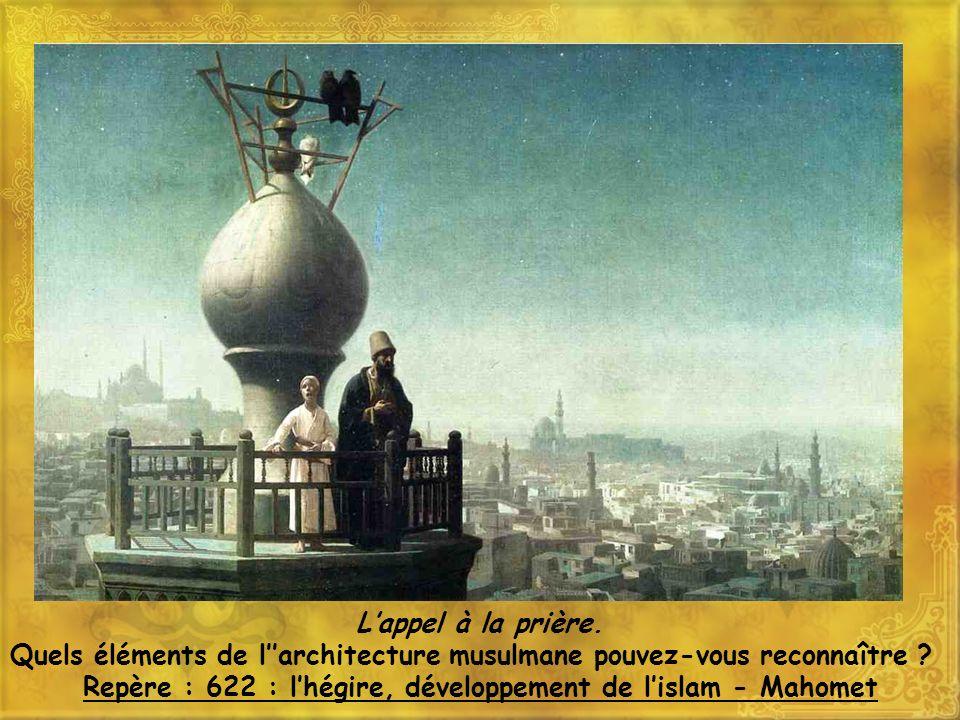 Repère : 622 : l'hégire, développement de l'islam - Mahomet
