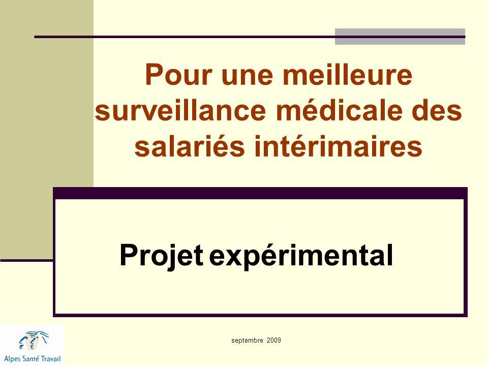 Pour une meilleure surveillance médicale des salariés intérimaires