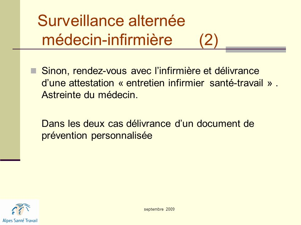 Surveillance alternée médecin-infirmière (2)