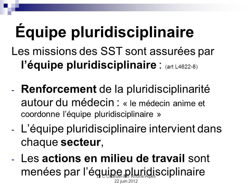 Équipe pluridisciplinaire
