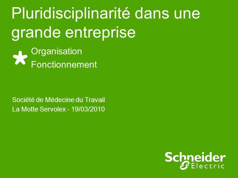 Société de Médecine du Travail La Motte Servolex - 19/03/2010