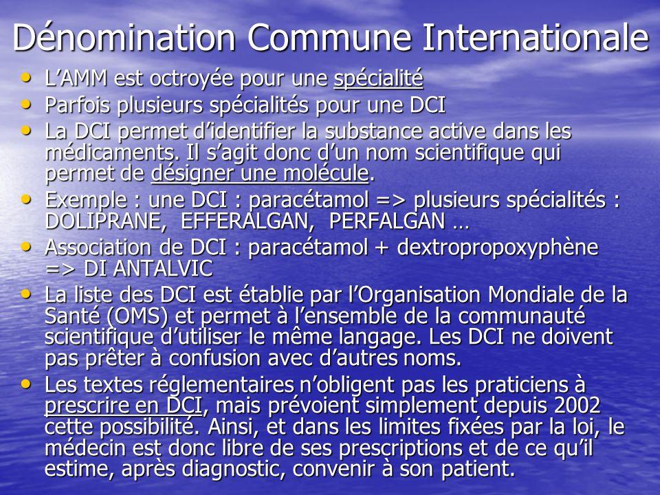 Dénomination Commune Internationale